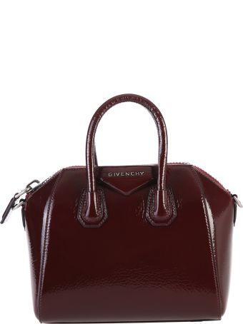 Givenchy Aubergine Mini Antigona Bag