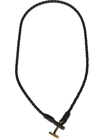 Tom Ford Metallic T Necklace