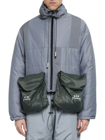 A-COLD-WALL Detachable Pockets Puffer Coat