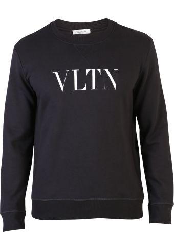 Valentino Black Branded Sweatshirt