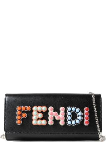 Fendi Chain Continental Wallet
