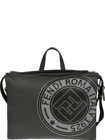 Fendi Logo Print Bag