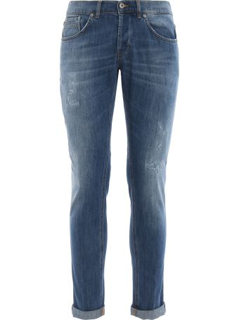 Dondup Ritchie Light Wash Denim Skinny Jeans