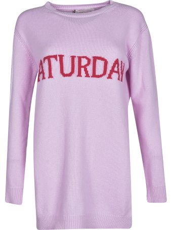 Alberta Ferretti Saturday Sweater Dress