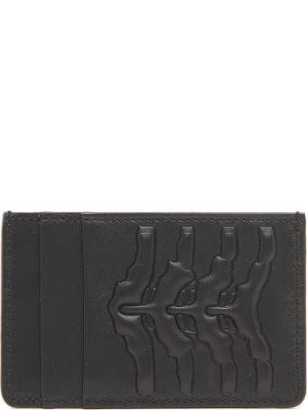 Alexander McQueen 'rib Cage' Cardholder