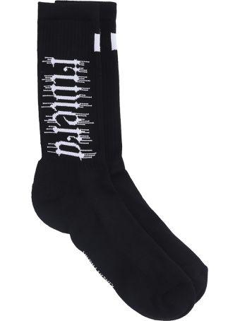 Cinzia Araia Black Cotton Socks