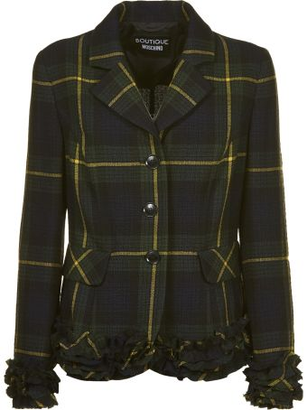 Moschino Checked Blazer