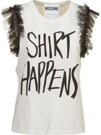 Moschino Shirt Happens T-shirt