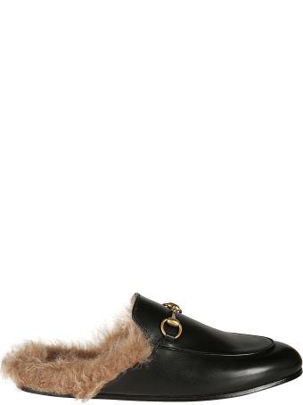 Gucci Fur Vintage Mules