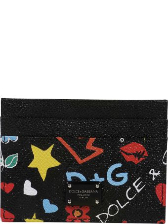 Dolce & Gabbana Graffiti Card Holder