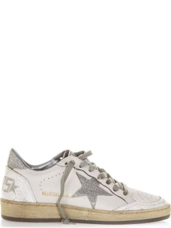 Golden Goose White Vintage Ball Star Sneaker