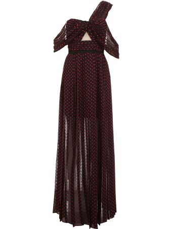 Long Plumetis Dress