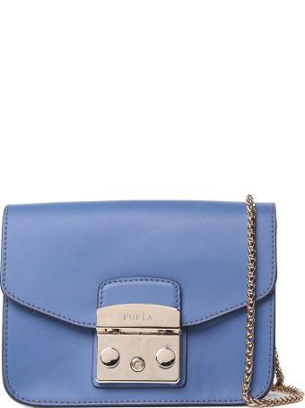 Furla Mini Metropolis Smooth-leather Cross-body Bag