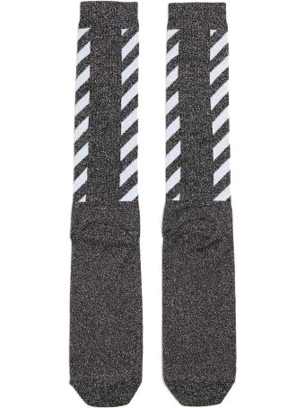 Off-White 'diag Long' Socks