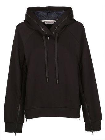 SportMax Sleeve And Hood Zipped Hoodie