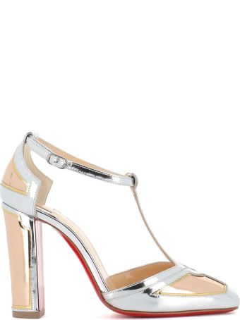 "Christian Louboutin Décollette T-bar ""interior Strap"""