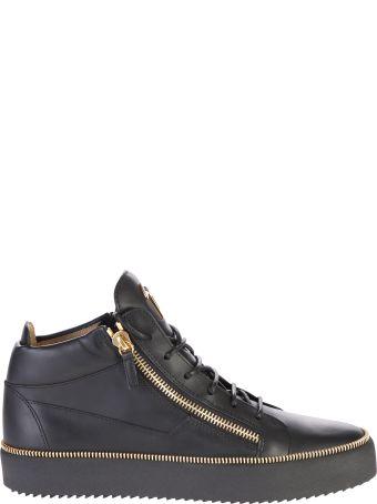 Giuseppe Zanotti Zipped Leather Sneakers