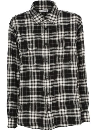 Saint Laurent Check Shirt