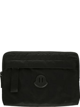 Moncler Logo Patch Laptop Case