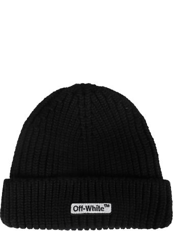 Off-White Knitted Beanie