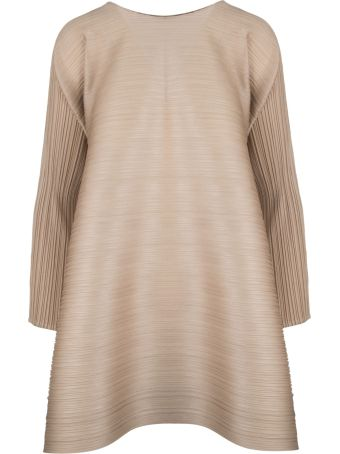 Pleats Please Issey Miyake Pleats Please By Issey Miyake Three Quarter Sleeved Blouse