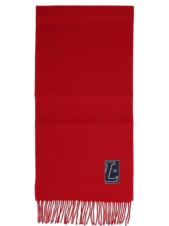 Lanvin Red Wool Scarf