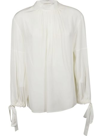 Prada Pleated Blouse