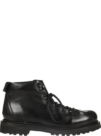 Buttero Classic Laced-up Ankle Boots