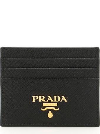 Prada Lettering Logo Cardholder