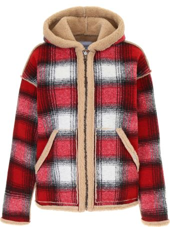 Forte Couture Reversible Check Jacket