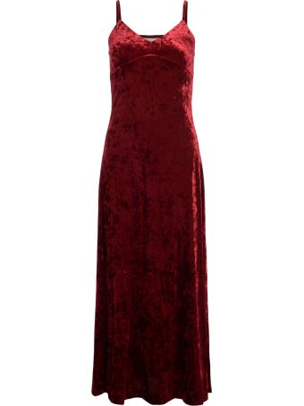 Michael Kors Red Chenille Dress