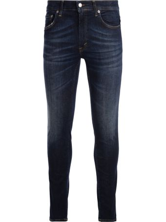 Department 5 Jeans Department 5 Skeith Blue Washed Denim