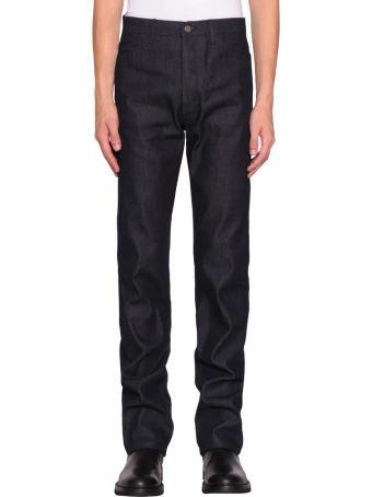 A plan application Indigo Cotton Denim Jeans
