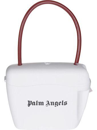 Palm Angels Logo Print Tote