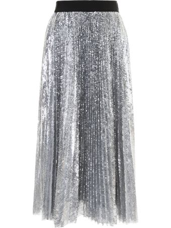 Micro Sequins Skirt