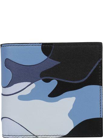 Valentino Camouflage Bifold Wallet