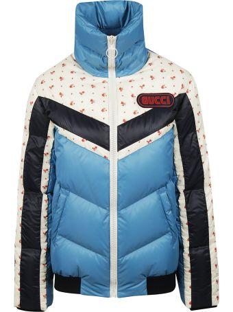 Gucci Logo Patch Padded Jacket