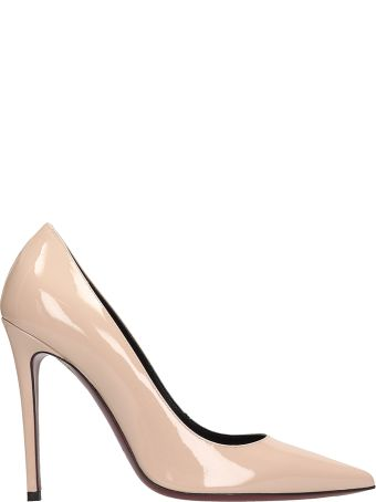 Dei Mille Pink Patent Leather Pumps