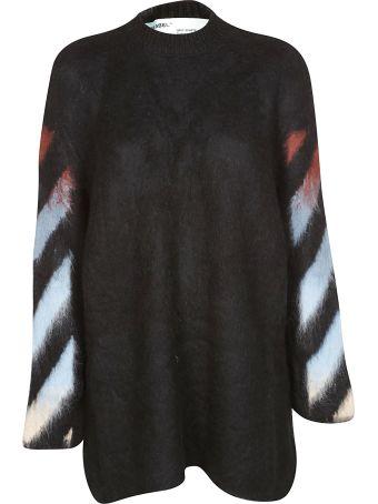 Off-White Arrow Print Oversized Sweater