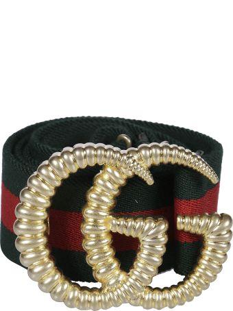 Gucci Web Elastic Belt