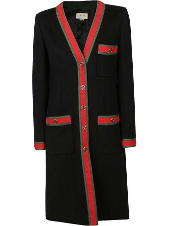 Gucci Web Stripe Coat