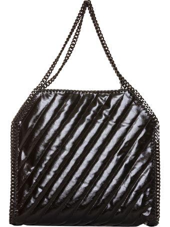 Stella McCartney Black Falabella Quilted Shoulder Bag