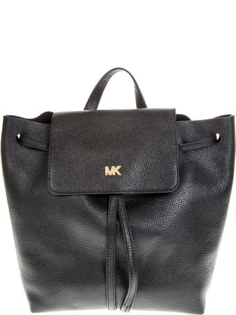 MICHAEL Michael Kors Black Leather Backpack