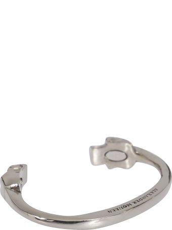 Alexander McQueen Skull Torque Bracelet