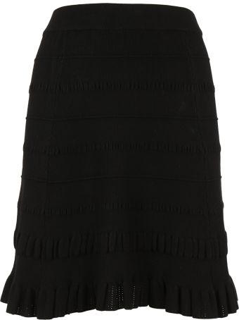 Kenzo Textured Knit Skirt