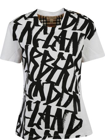 Burberry Front Printed T-shirt