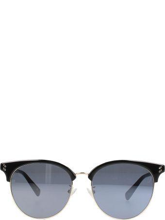 Stella McCartney Cat Eye Acrylic Black Sunglasses
