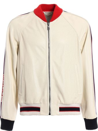 Gucci Perforated Bomber