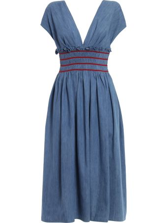 Miu Miu Denim Dress