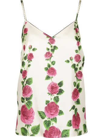 Gucci Rose Garden Tank Top